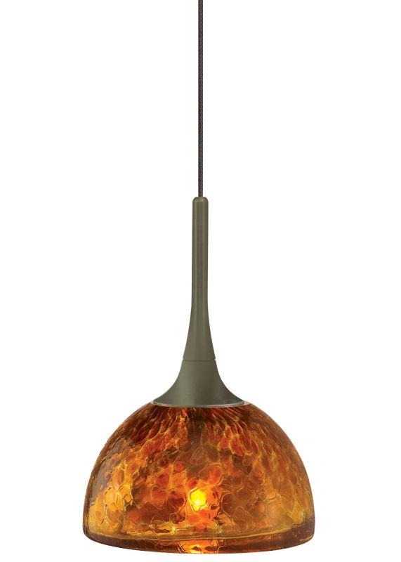LBL Lighting Sophia Amber Fusion Jack 1 Light Track Pendant Bronze Sale $190.40 ITEM#: 2036675 MODEL# :HS266AMBZ1A35FSJ :