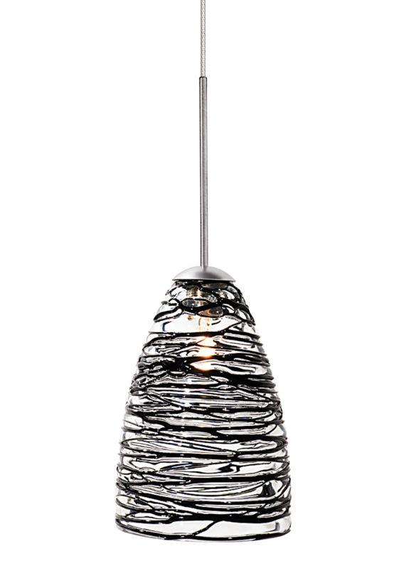LBL Lighting Flow Black Monopoint 1 Light Track Pendant Bronze Indoor