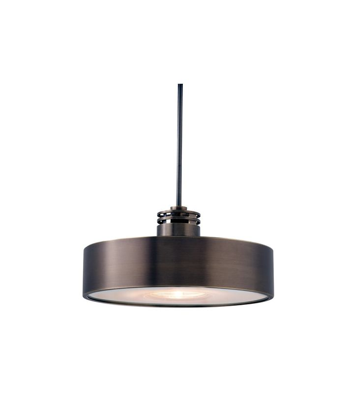 LBL Lighting Hover Monopoint Hover Single Light Pendant Bronze Indoor