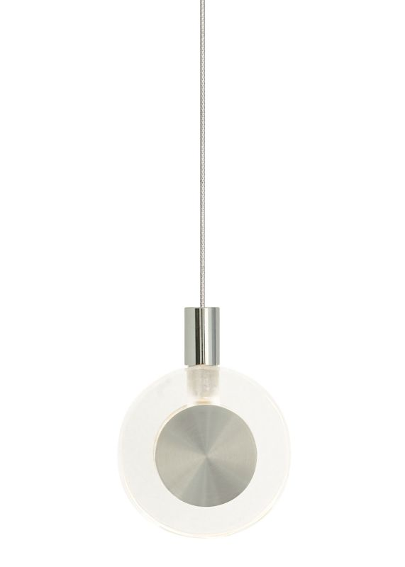 LBL Lighting Bling Clear Monopoint 1 Light Track Pendant Satin Nickel Sale $160.80 ITEM#: 2037698 MODEL# :HS447CRSC1B10MPT :