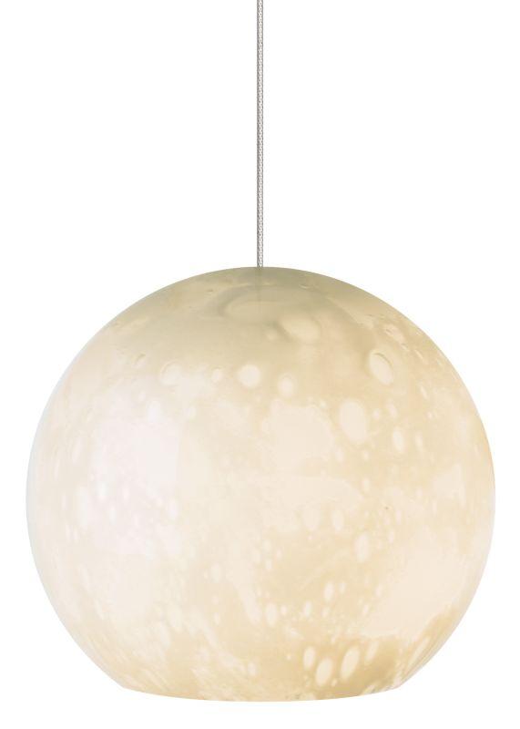 LBL Lighting Aquarii Ivory 50W Fusion Jack 1 Light Mini Pendant Satin