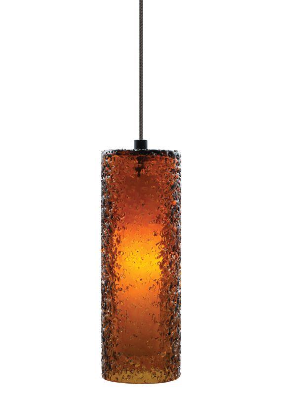LBL Lighting Mini Rock Candy C LED Dark Amber 6W Monopoint 1 Light