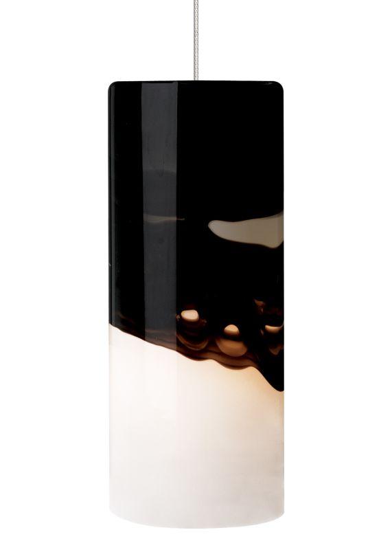 LBL Lighting Rio Gray / Purple 50W Monopoint 1 Light Mini Pendant