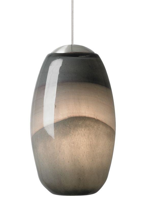 LBL Lighting Emi LED Gray / Dark Purple 6W Monopoint 1 Light Mini