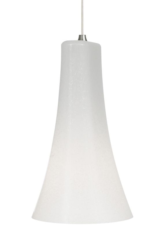 LBL Lighting Mini-Indulgent Opal LED Monopoint 1 Light Track Pendant