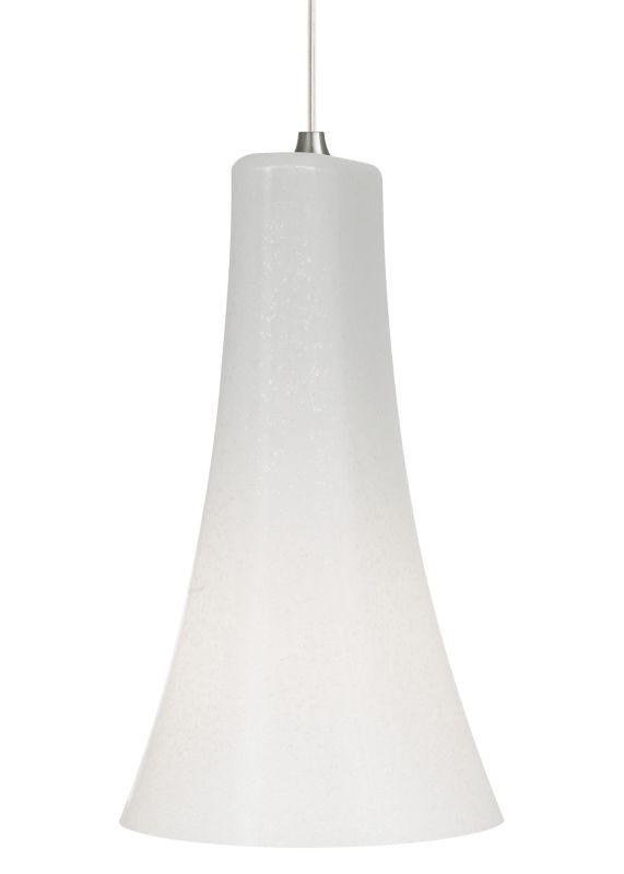 LBL Lighting Mini-Indulgent Opal Monopoint 1 Light Track Pendant Satin