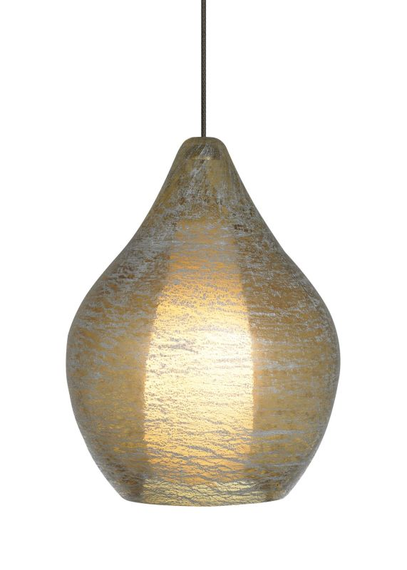LBL Lighting Relic No. 2 Amber Fusion Jack 1 Light Track Pendant Satin