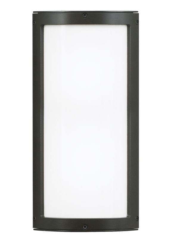 LBL Lighting Omni Medium Outdoor Opal 120W Wall 2 Light Wall Sconce