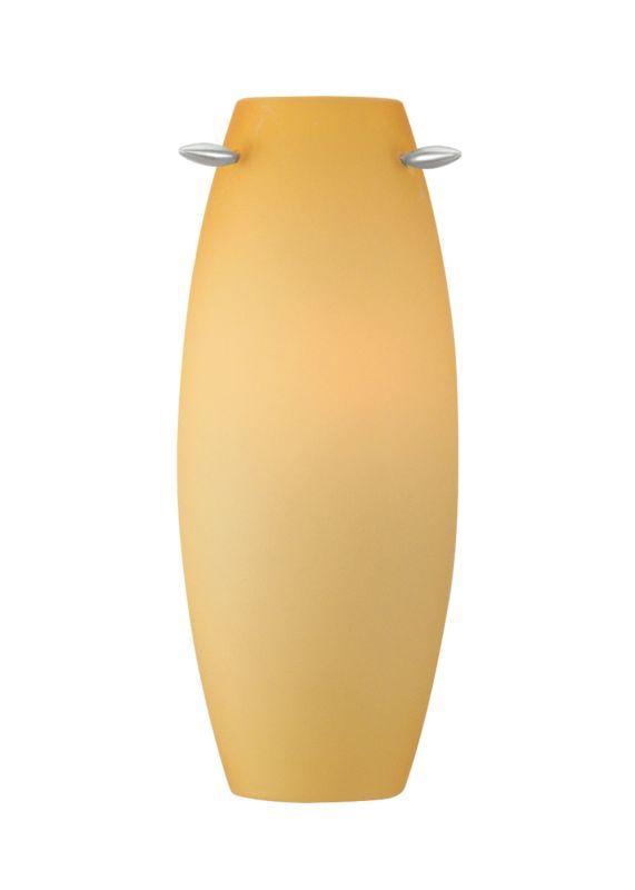 LBL Lighting Linear Wall Amber LED 277V 1 Light Wall Sconce Satin