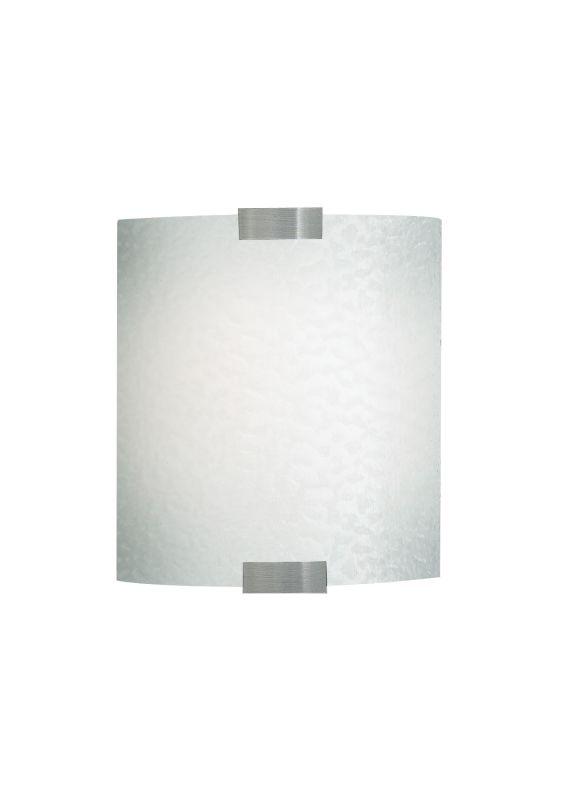 LBL Lighting Omni Cover Small Opal LED 277V 1 Light Wall Sconce Bronze