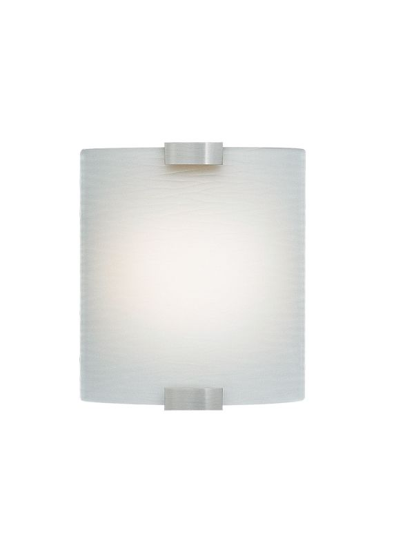 LBL Lighting Omni Cover Small Frost LED 277V 1 Light Wall Sconce