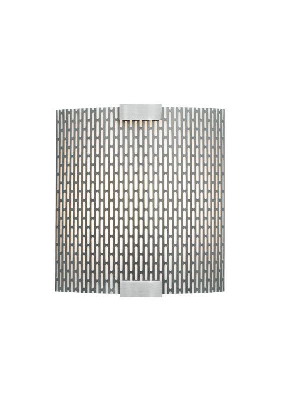LBL Lighting Omni Cover Small Meta LED 277V 1 Light Wall Sconce Bronze