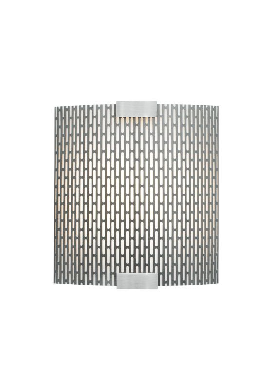 LBL Lighting Omni Cover Small Meta LED 277V 1 Light Wall Sconce Silver Sale $457.60 ITEM#: 2039195 MODEL# :LW559METSILED277 :