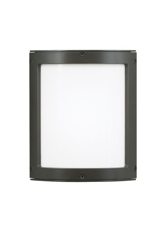 LBL Lighting Omni Small LED Outdoor Opal 10W Wall 1 Light Wall Sconce