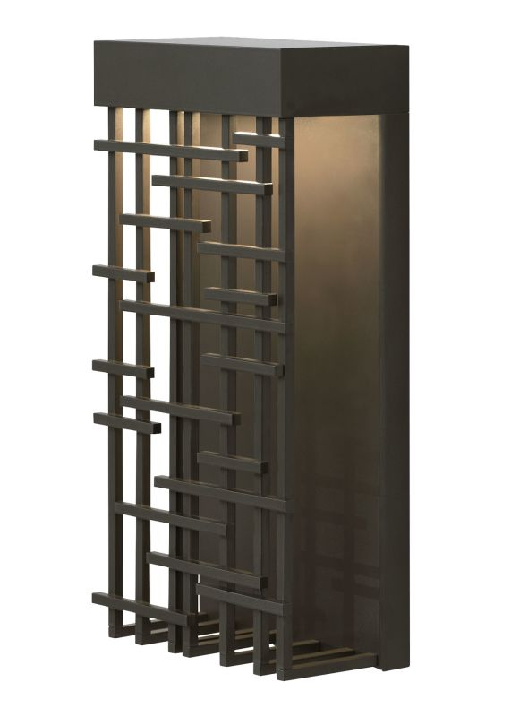 LBL Lighting Pier 60 Outdoor 1 Light Outdoor Medium Wall Sconce Bronze