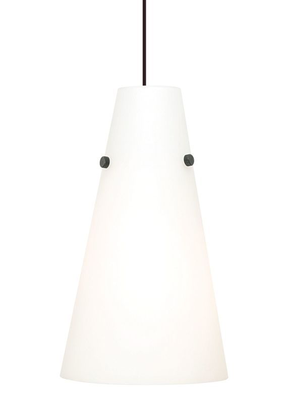 LBL Lighting Kona II Opal 18W 1 Light Down Light Pendant Satin Nickel Sale $218.40 ITEM#: 2039289 MODEL# :PF5180OPSC18Q :