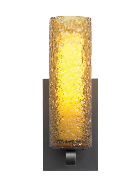 LBL Lighting Mini-Rock Candy Cylinder Wall Amber 26W 277V 1 Light Wall Sale $416.80 ITEM#: 2039641 MODEL# :PW623AMSCCF2HE :