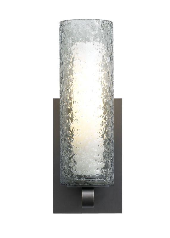 LBL Lighting Mini-Rock Candy Cylinder Wall Smoke 26W 120V 1 Light Wall