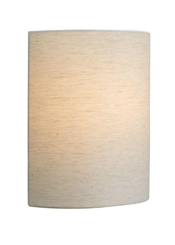 LBL Lighting Fiona Wall Linen 18W 120V 1 Light Wall Sconce Linen