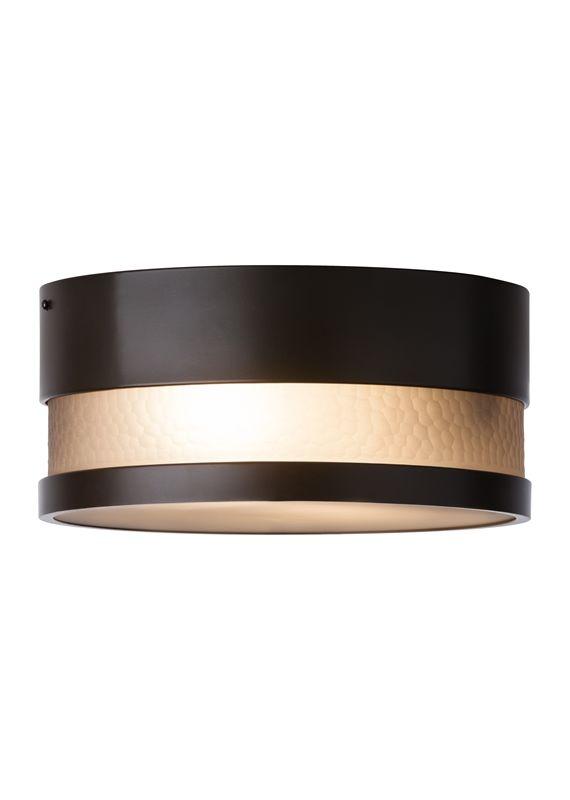 LBL Lighting ODF827SM-LEDW Moon Dance 1 Light LED Outdoor Flush Mount