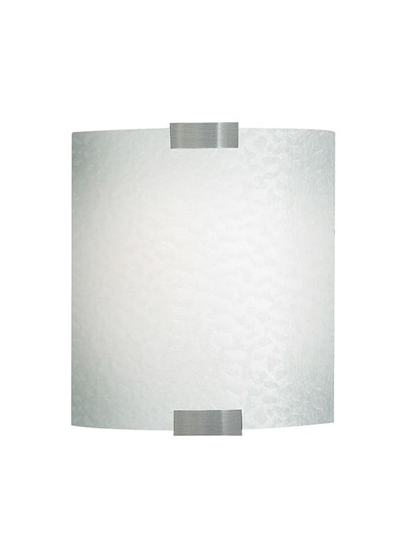 LBL Lighting LW559BOP Omni LED Wall Sconce with Opal Bubble Glass