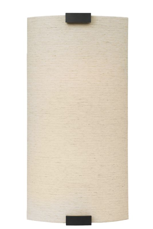 LBL Lighting PW561FLI Omni CFL Wall Sconce with Linen Fabric Shade