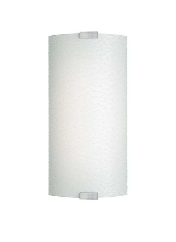 LBL Lighting PW561BOP Omni CFL Wall Sconce with Opal Bubble Glass