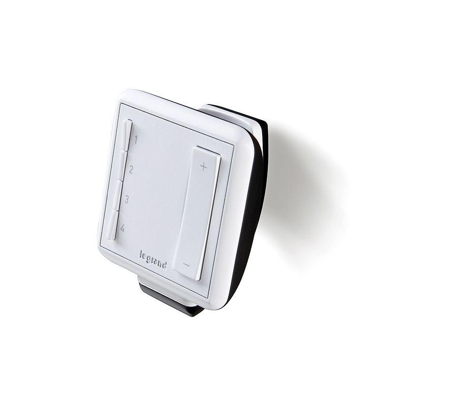 Legrand ADMHRM4 Wireless Lighting Remote Control White Indoor Lighting