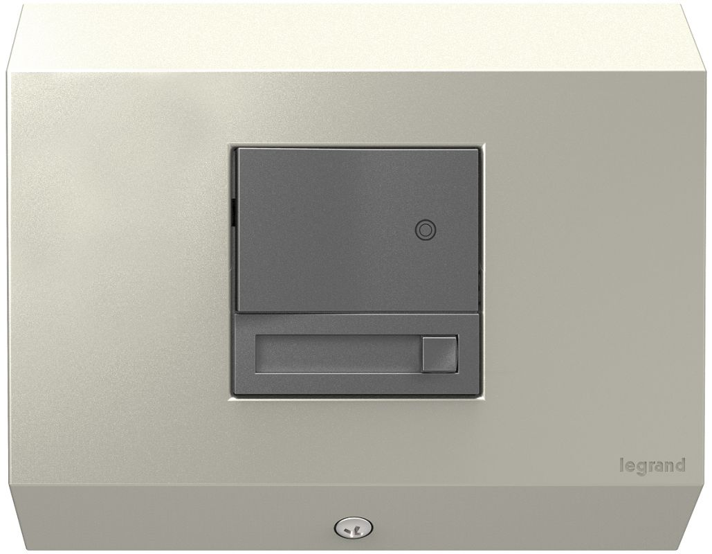 Legrand APCB1TM4 adorne Under Cabinet Control Box with Paddle Dimmer