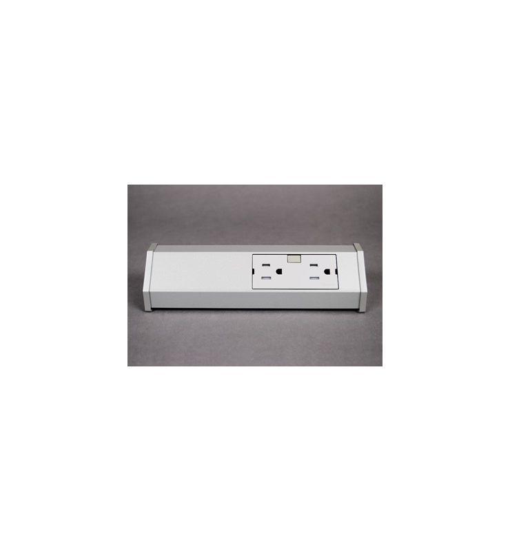 Legrand APST9TM1 adorne Under Cabinet Short Modular Track Titanium