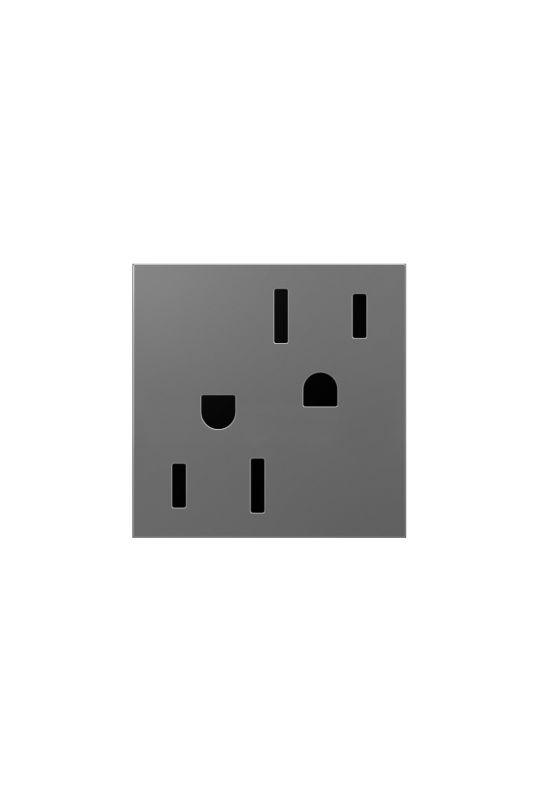 Legrand ARTR202M4 adorne Double 20 Amp Tamper Resistant Outlet