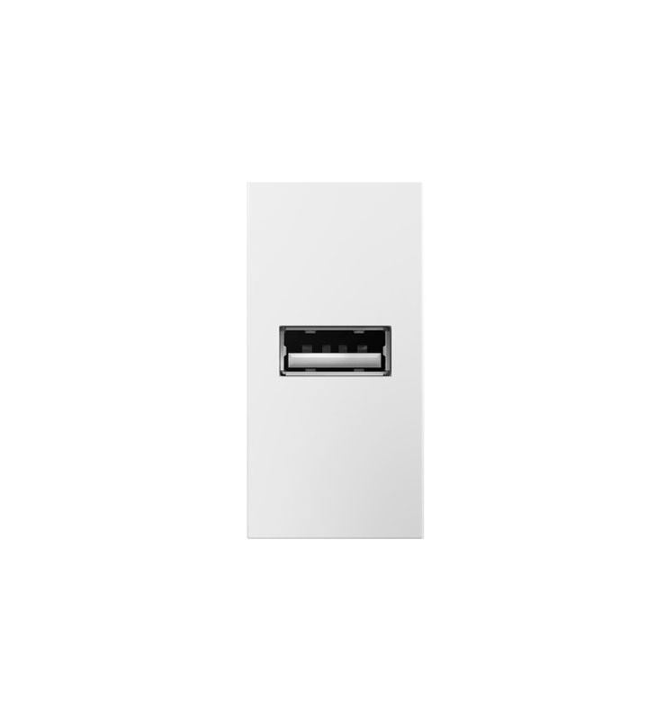 Legrand ARUSBW4 adorne 2.1 Amp USB Outlet 1 Module White Indoor