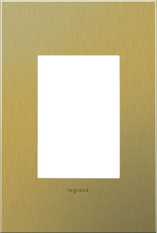 Legrand AWC1G3BB4 adorne 1 Gang Metal Wall Plate - 4.56 Inches Wide