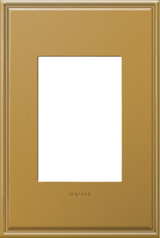Legrand AWC1G3NB4 adorne 1 Gang Metal Wall Plate - 4.56 Inches Wide Sale $34.68 ITEM#: 2629154 MODEL# :AWC1G3NB4 :