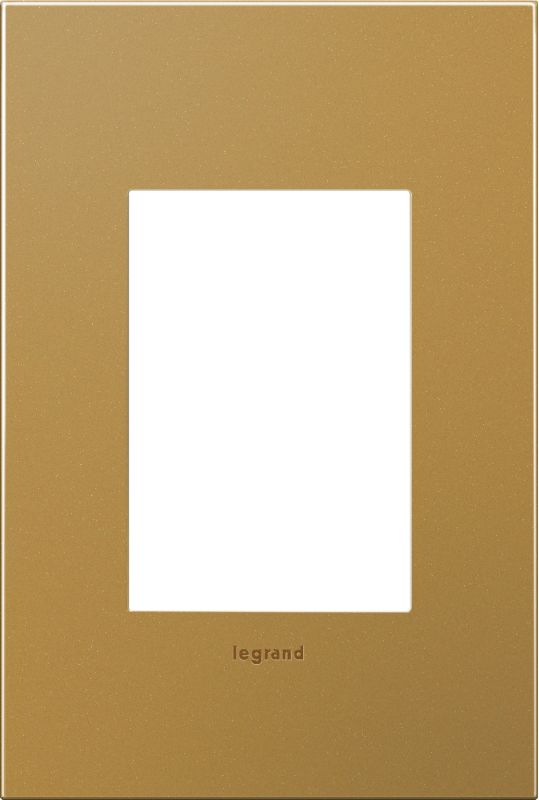 Legrand AWC1G3SB4 adorne 1 Gang Metal Wall Plate - 4.56 Inches Wide Sale $34.68 ITEM#: 2629195 MODEL# :AWC1G3SB4 :