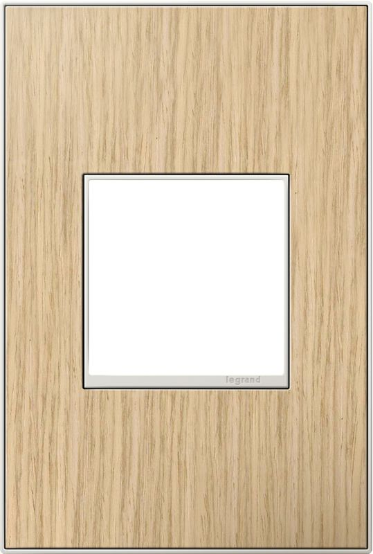 Legrand AWM1G2FH4 adorne 1 Gang Wood Wall Plate - 4.56 Inches Wide