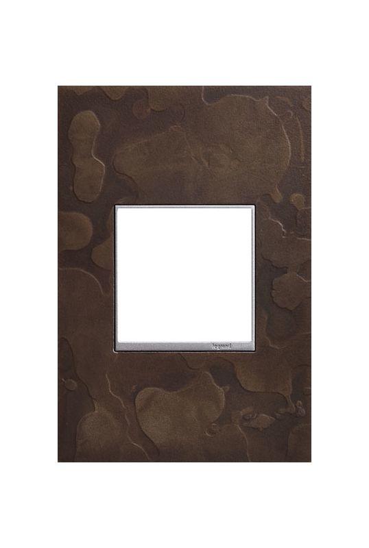 Legrand AWM1G2HFDS4 adorne Hubbardton Forge Metal 1 Gang Wall Plate -