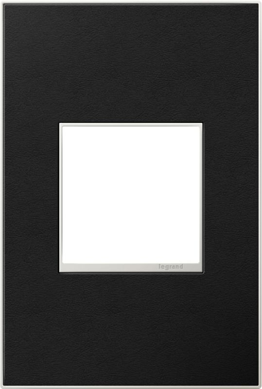 Legrand AWM1G2LE4 adorne 1 Gang Leather Wall Plate - 4.56 Inches Wide