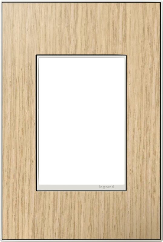 Legrand AWM1G3FH4 adorne 1 Gang Wood Wall Plate - 4.56 Inches Wide
