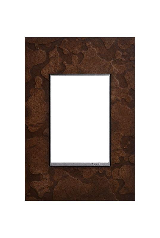 Legrand AWM1G3HFBR1 adorne Hubbardton Forge Metal 1 Gang Wall Plate -