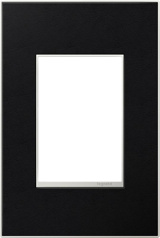 Legrand AWM1G3LE4 adorne 1 Gang Leather Wall Plate - 4.56 Inches Wide