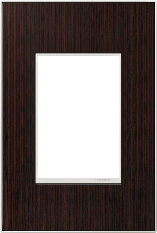 Legrand AWM1G3WE4 adorne 1 Gang Wood Wall Plate - 4.56 Inches Wide