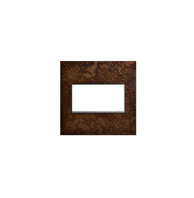 Legrand AWM2GHFBR1 adorne Hubbardton Forge Metal 2 Gang Wall Plate -