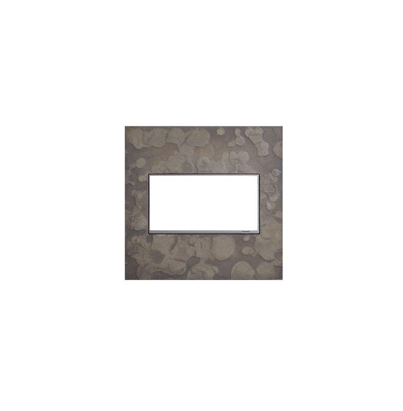 Legrand AWM2GHFBS1 adorne Hubbardton Forge Metal 2 Gang Wall Plate -