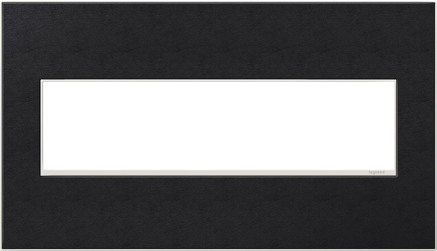 Legrand AWM4GLE4 adorne 4 Gang Leather Wall Plate - 6.56 Inches Wide
