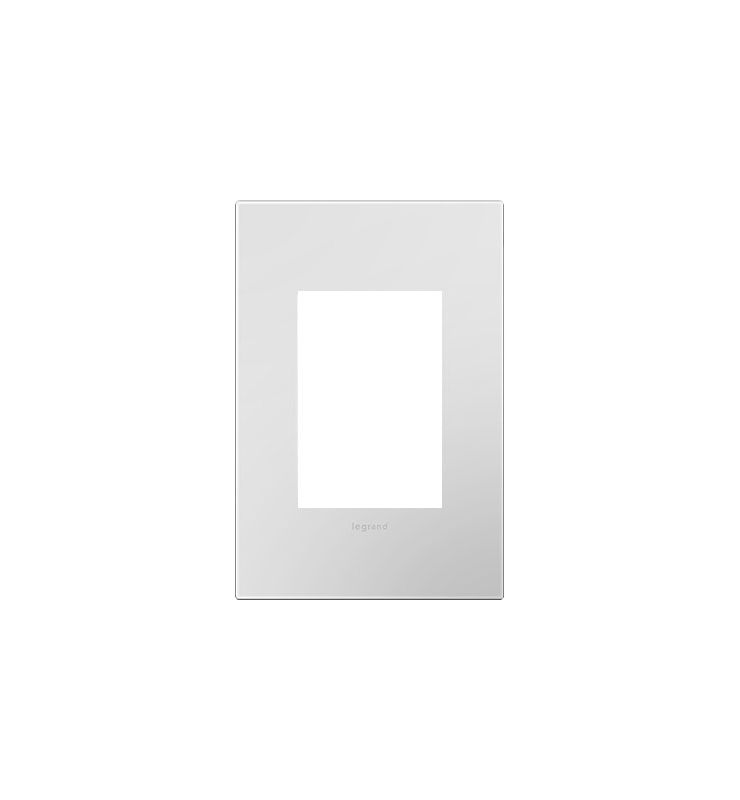 Legrand AWP1G3P Adorne 1-Gang+ Wall Plate - 4.56 Inches Wide Powder