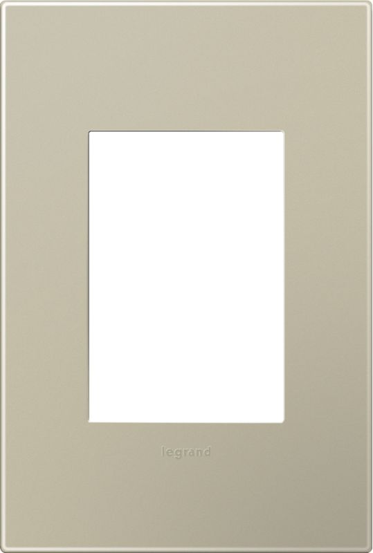 Legrand AWP1G3TM4 Adorne 1-Gang+ Wall Plate - 4.56 Inches Wide