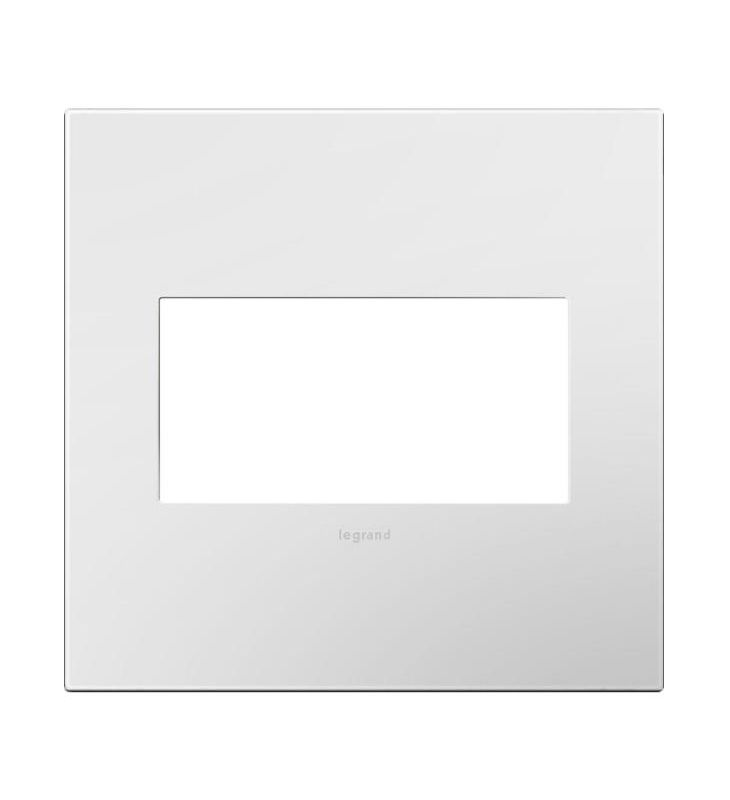 Legrand AWP2GWHW10 adorne 2 Gang Plastic Wall Plate - 6.75 Inches Wide Sale $9.18 ITEM#: 2629092 MODEL# :AWP2GWHW10 :