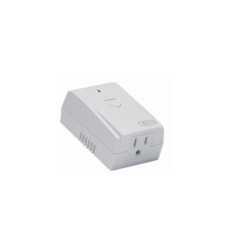 Legrand MRP7W On-Q Wireless Small Appliance Outlet Module 800 W White