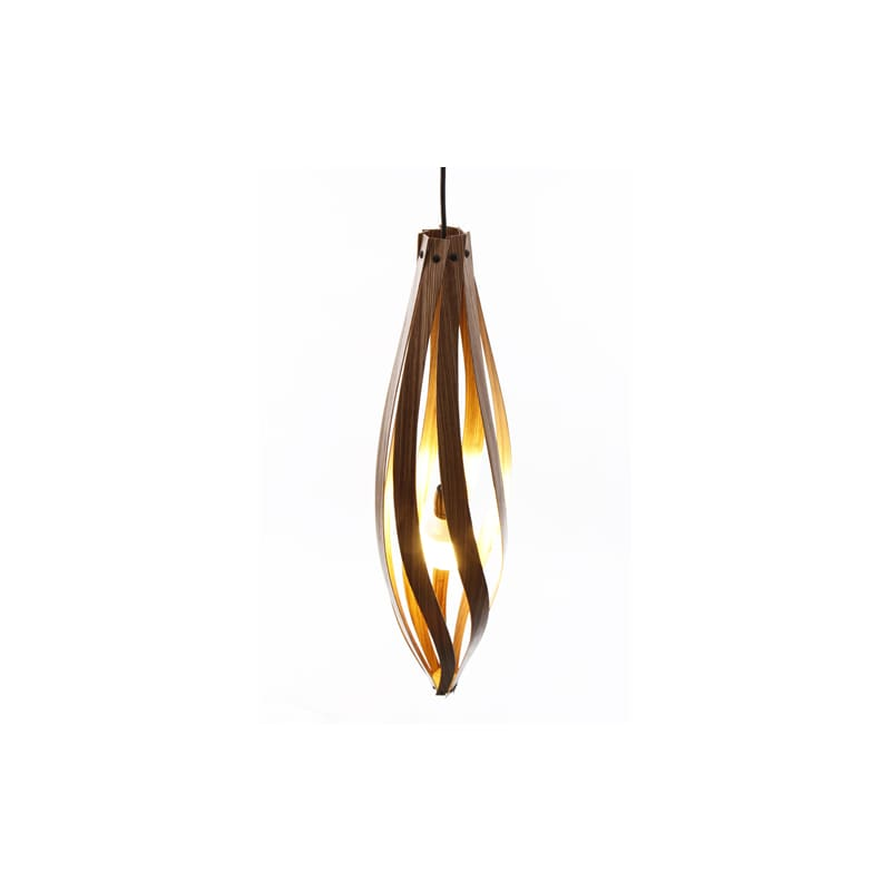 "MacMaster COCOON LARGE Cocoon 1 Light 10"" Wide Mini Pendant Oak Indoor"